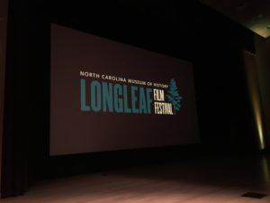 2019 Longleaf Film Festival: North Carolina Museum of History, Raleigh